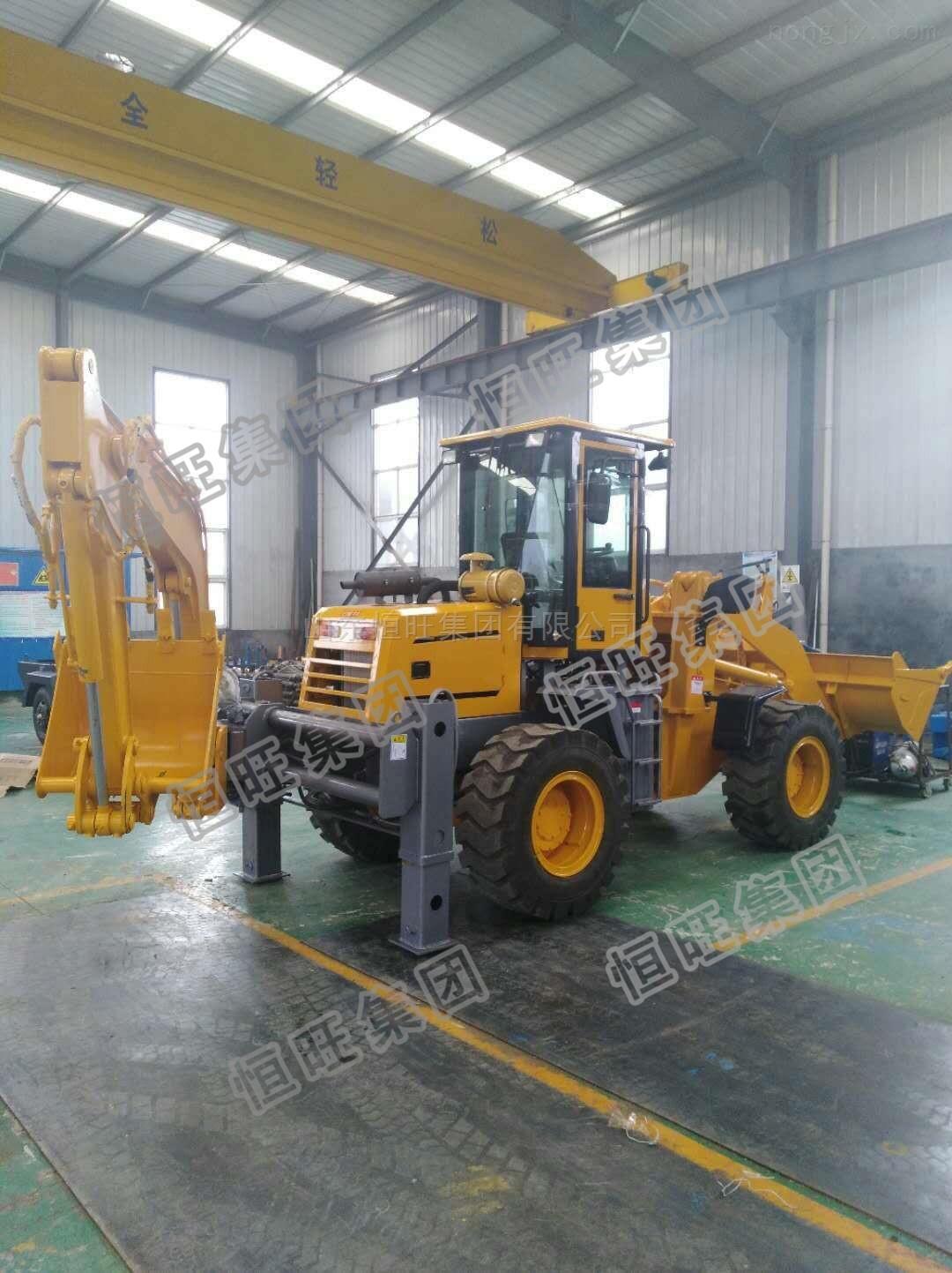 恒旺挖掘装载机 30型轮式挖掘装载机 现货供应
