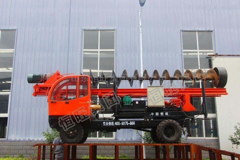 轮式螺旋打桩机厂家热销  品质保证  现货供应