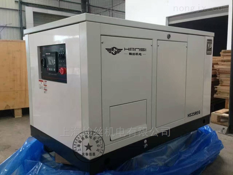 HS25REG25KW三相汽油发电机