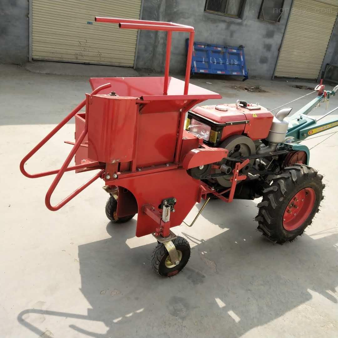 拖拉机配套玉米联合收获机背负式玉米收割机