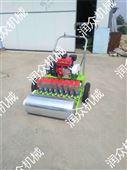 大棚双行蔬菜播种机 汽油动力蔬菜精播机