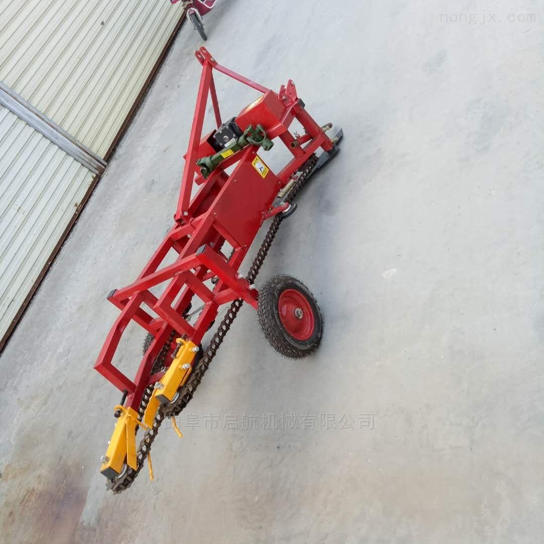 鲜花生收获机 拖拉机带收获 果子收割机