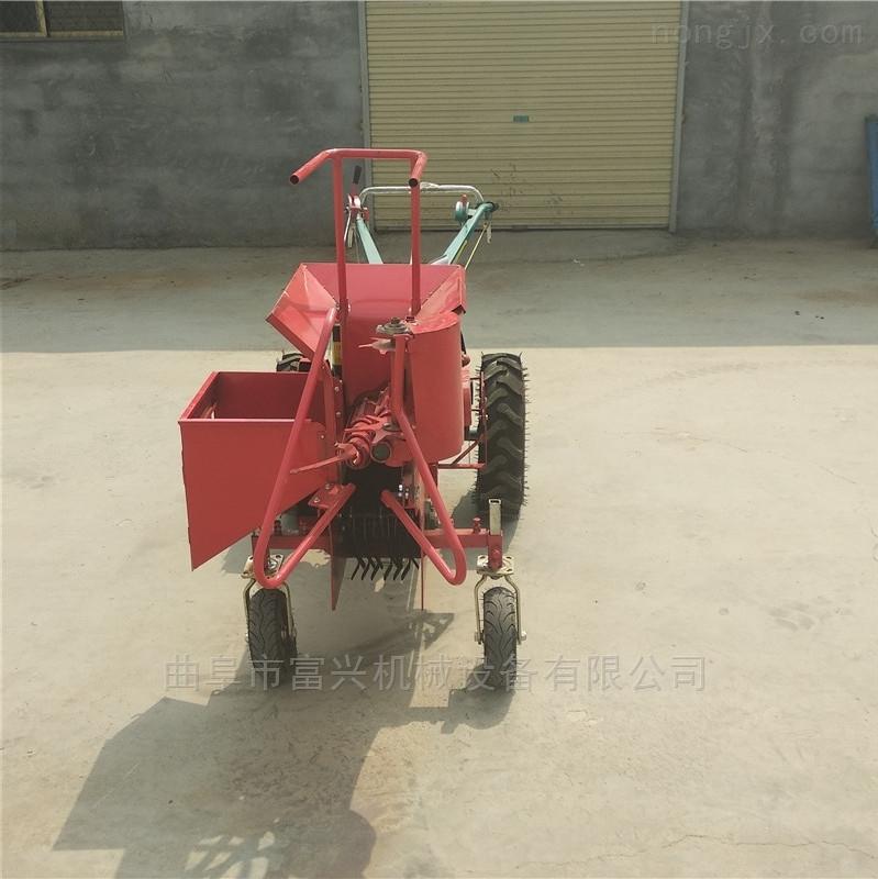 苞米棒子摘穗收获机 单行玉米收割机型号