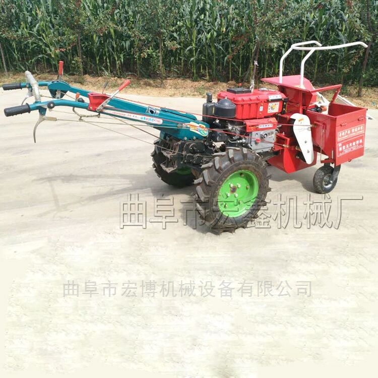 手扶式微型玉米收获机 掰玉米机器