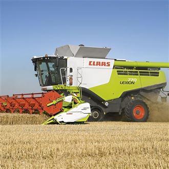 克拉斯小麦收割机