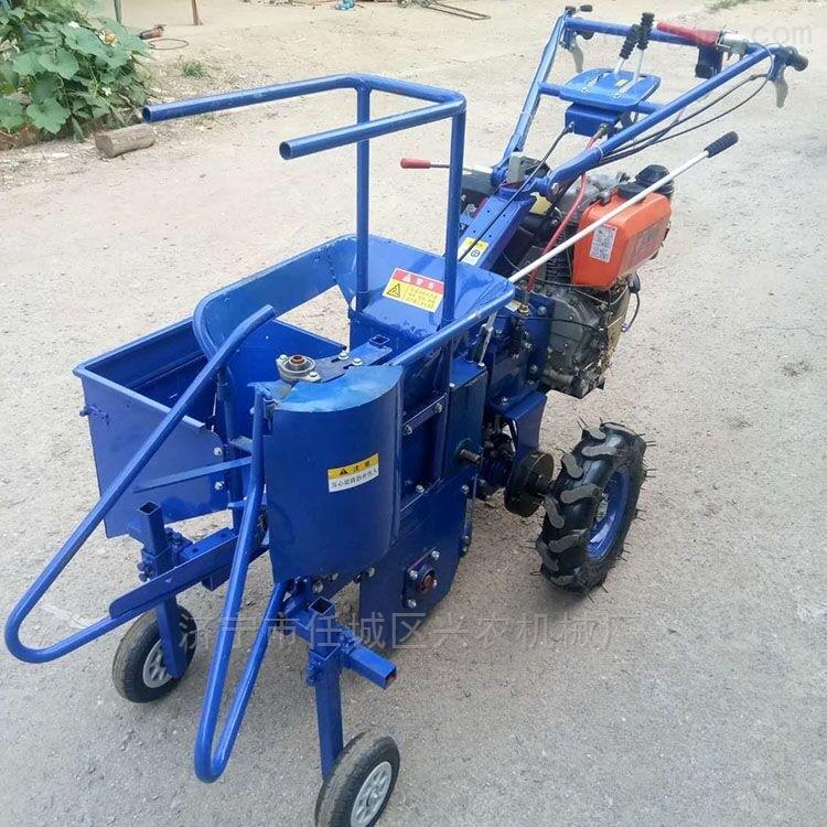 手扶车玉米收获机 小型玉米秸秆粉碎机