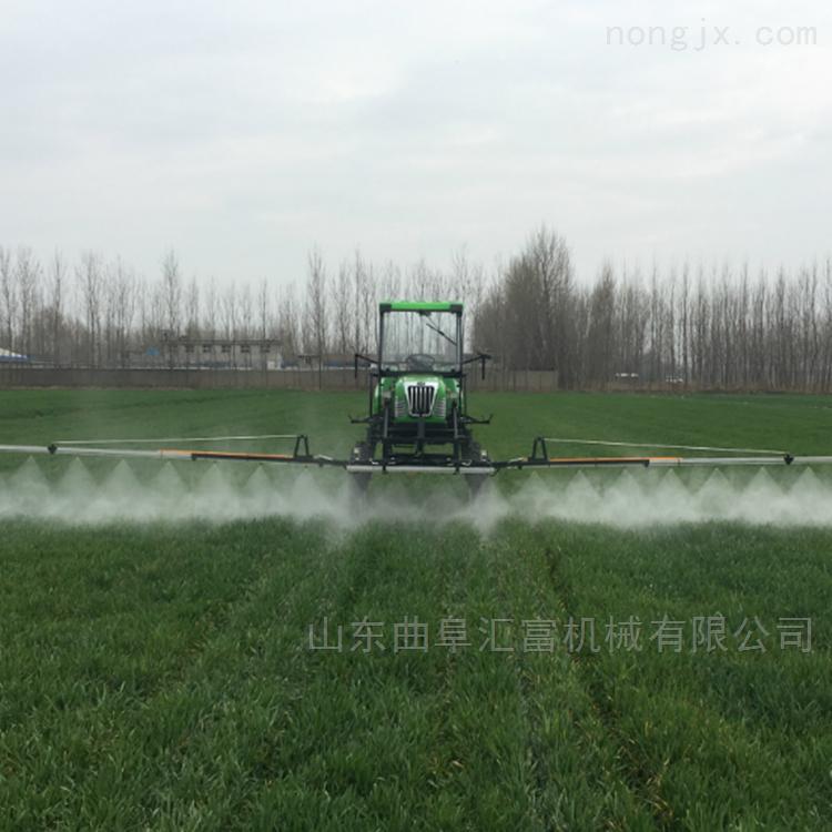 自走式农用打药机喷洒农药、撒肥两用机设备