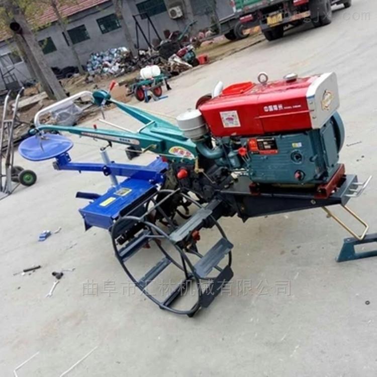 柴油松土犁地手扶拖拉机