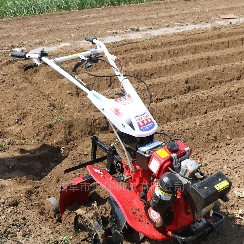 高效率汽油动力微耕机