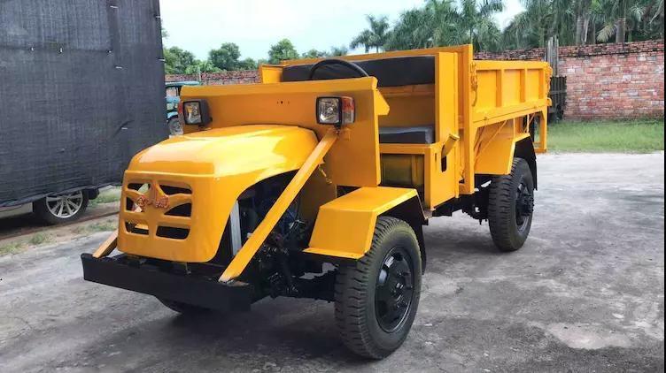 生产矿山专用车