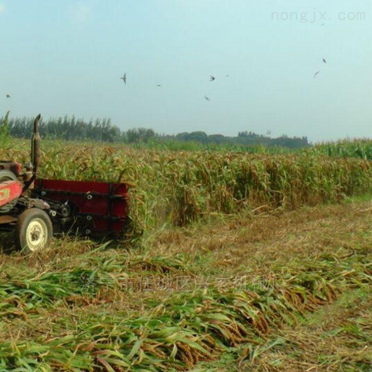 柳条芦苇收割晾晒机小型水稻小麦收割机价格