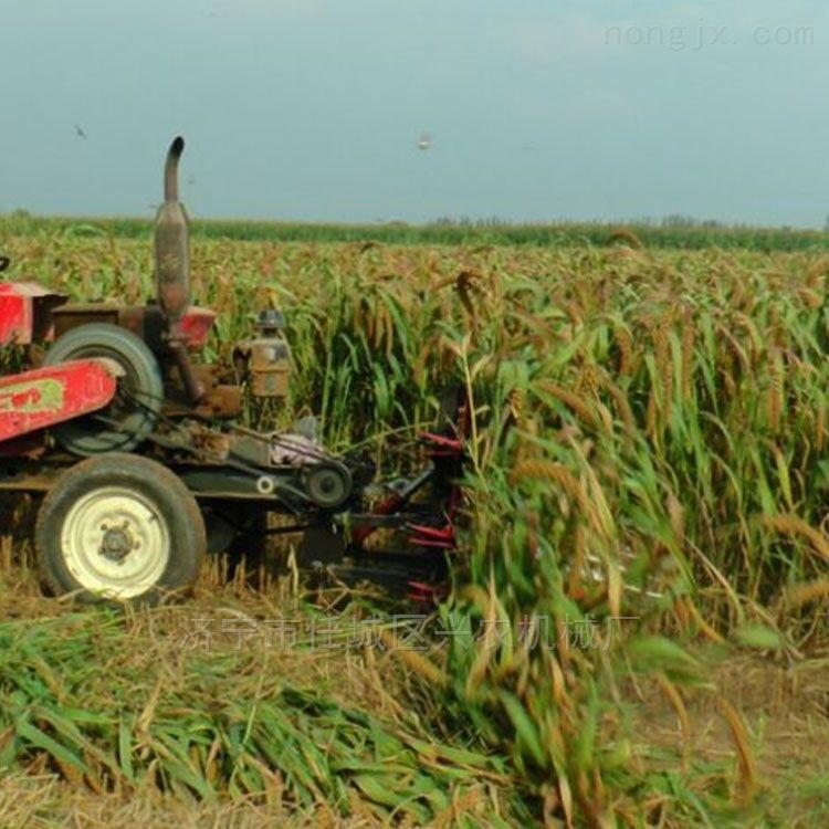 新型玉米秸稈粉碎還田機辣椒秸稈收割機