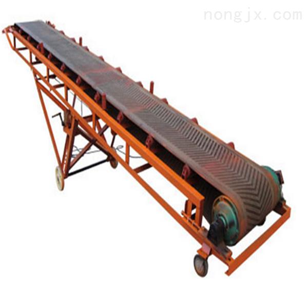 变频调速袋装化肥装车输送机,可升降运输机