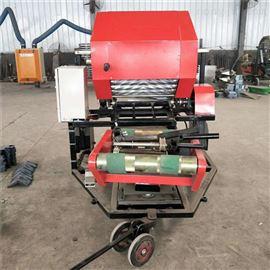ZGY-145木屑捆扎机全自动鲜草园捆包膜一体机