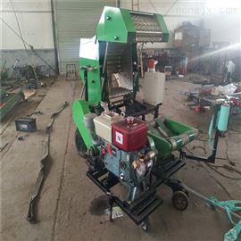 ZTY/789麦秆园捆包膜机柴油动力半自动压缩打捆稻草