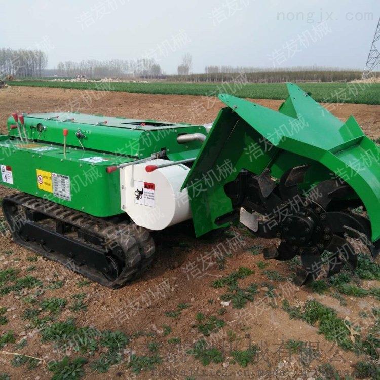 施肥旋耕履带农用机 蔬菜大棚种植开沟机