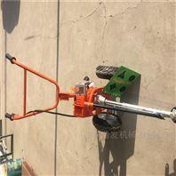 手扶带双圆盘前置割草机 宽幅1米汽油剪草机