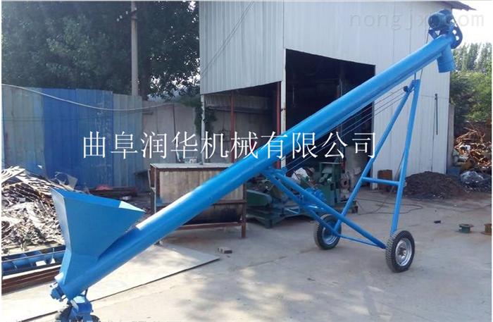 螺旋上料玉米提升机 无缝钢管防尘提料机