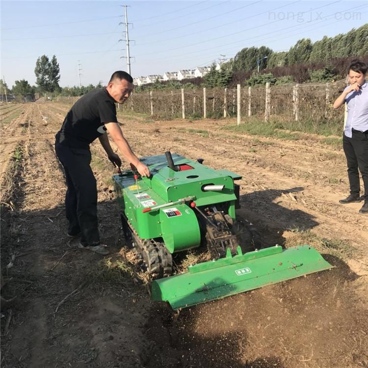 hf-28-卖履带田园管理机 自走式果园开沟施肥机