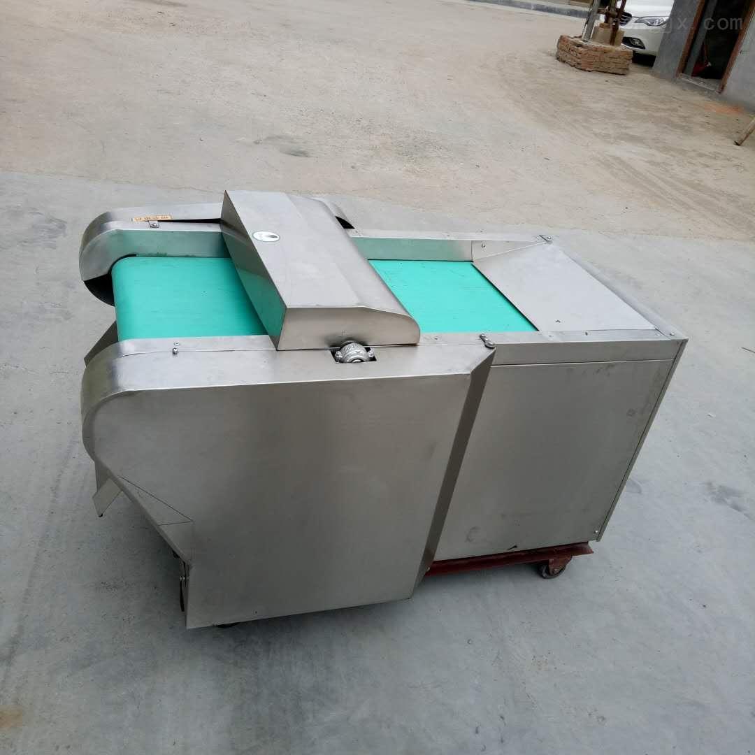 地瓜切片机使用视频 莲藕电动切块机