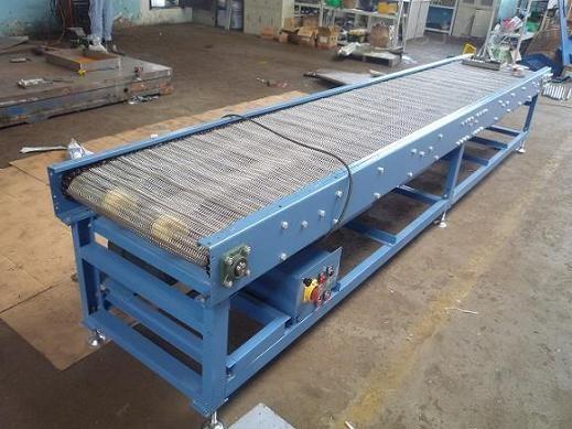 惠州食品专用输送机 耐磨金属网带输送机xy1网带输送机