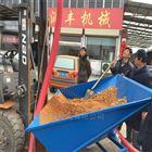 玉米晒场装袋吸粮器 红色软管蛟龙装袋机