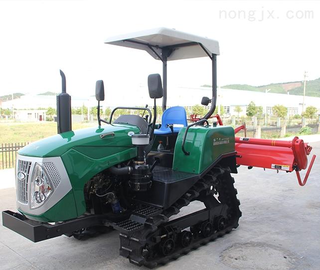 履带式拖拉机