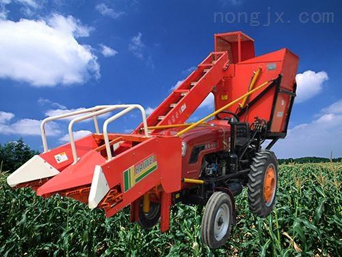 茎穗兼收玉米联合收割机