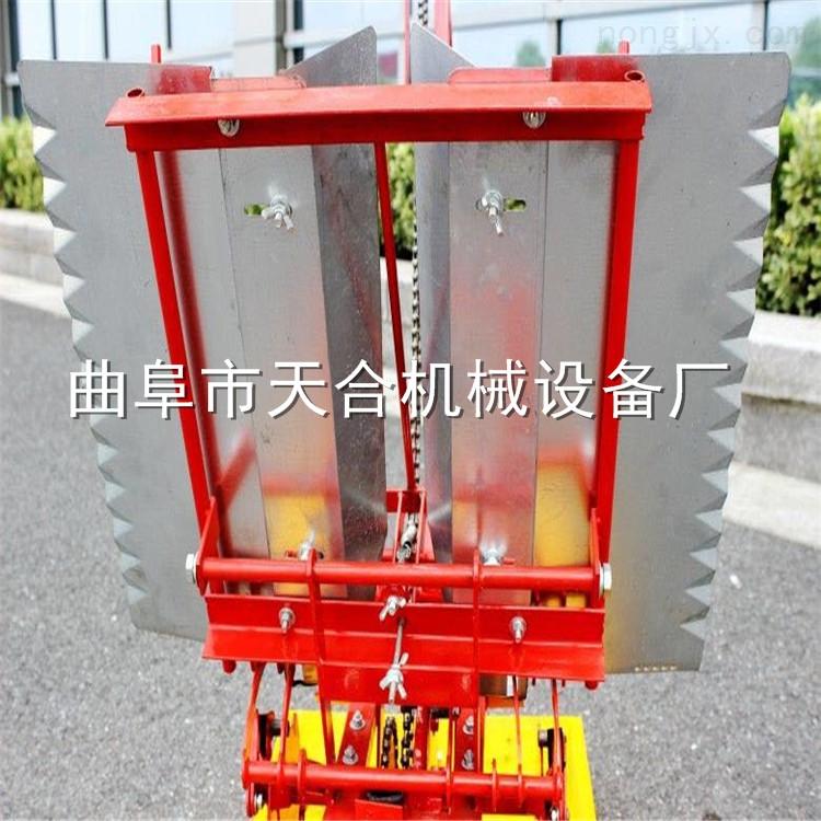 手摇两行插秧机 高产量效率高