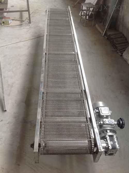 芜湖直销爬坡网带输送机