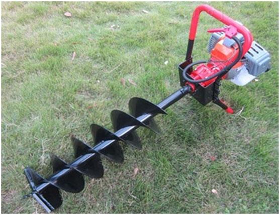 多功能植树挖坑机5.5马力汽油钻坑机 价格挖坑机