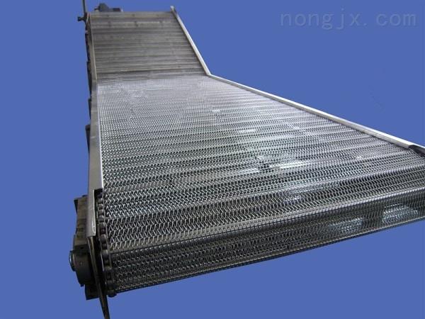 网带清洗输送机新品 提升爬坡输送