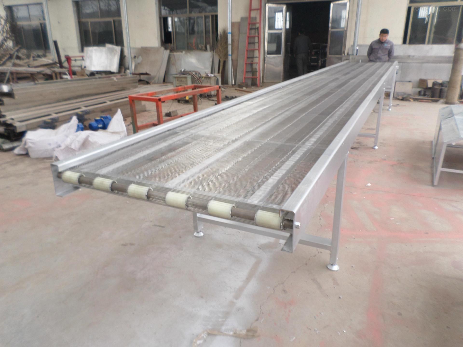 金属网带输送机专业生产 提升爬坡输送