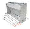 自动采食槽不锈钢双面料槽仔猪保育料槽