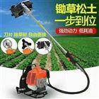汽油机背在肩上的割草机 苗圃荒草除草机