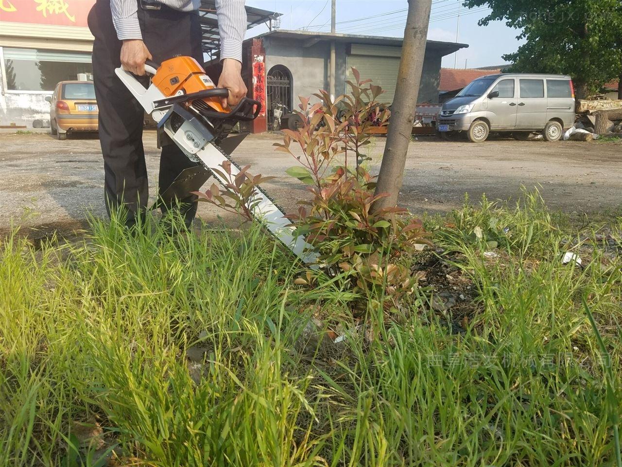便携式挖树机 带土球起苗机 浩发机械直销