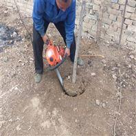 省时省力汽油挖树油搞 大马力铲式起树机