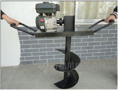 四轮带动高速挖坑机园林机械 产能高