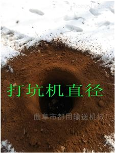 立式地鑽挖坑機園林機械 大功率xy1