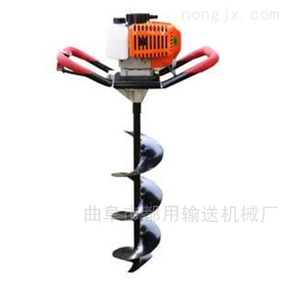 苹果树种植打眼机埋桩打坑机 劳动强度低x