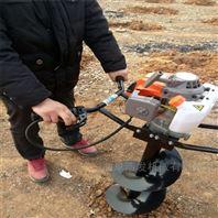 农用四轮带大直径挖坑机 挖坑冬青种植机
