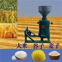 高产量玉米高粱去皮机单相电操作碾米机