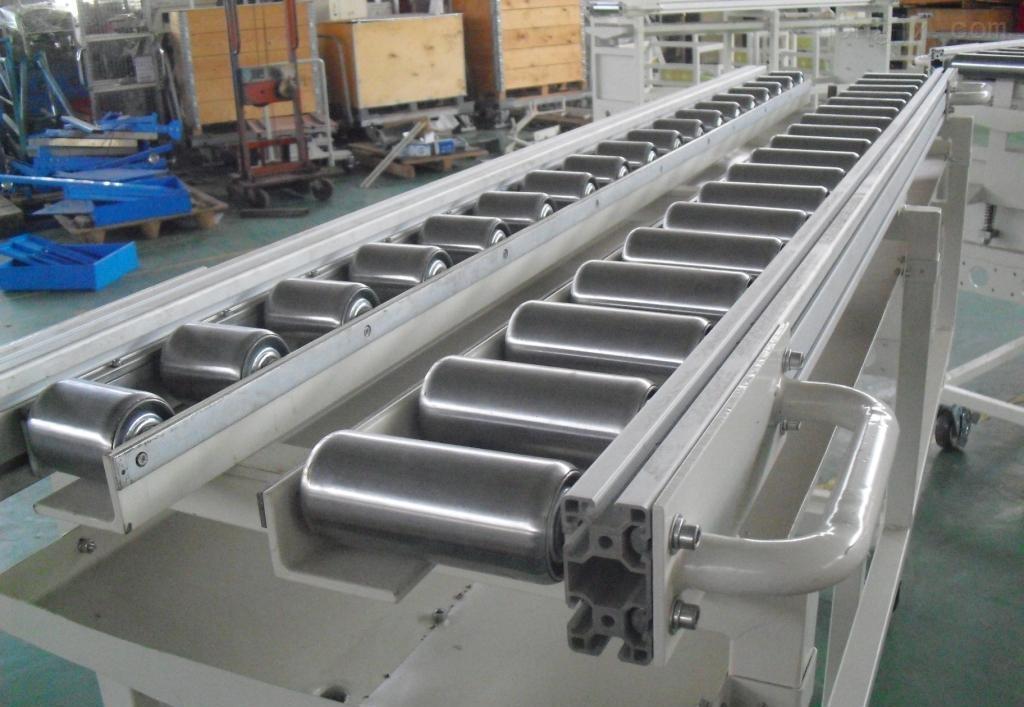 大连伸缩辊筒输送机 水平输送滚筒线多层分拣辊筒输送机