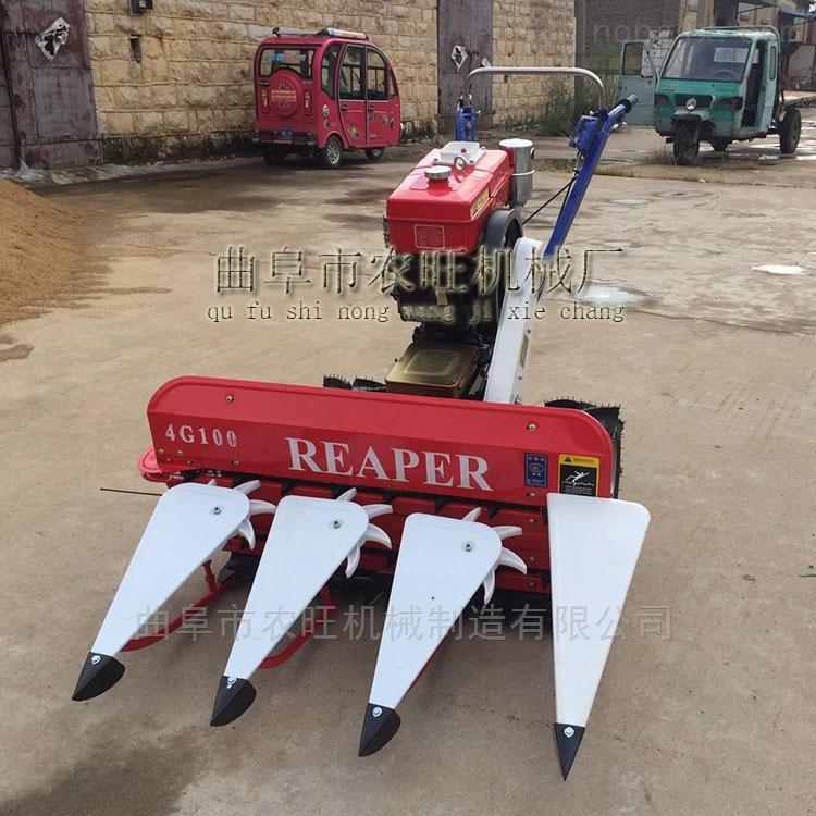多功能小型割晒机 四轮拖拉机收割机割台