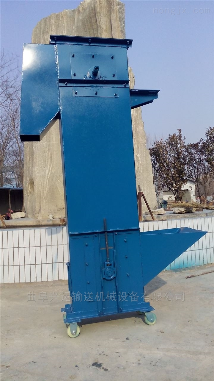 斗式提升机定制厂家 8米高上料机