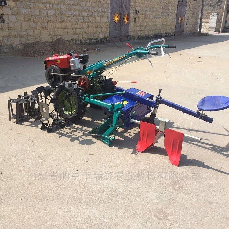 硬土地柴油打田机 手扶式家用旋耕机