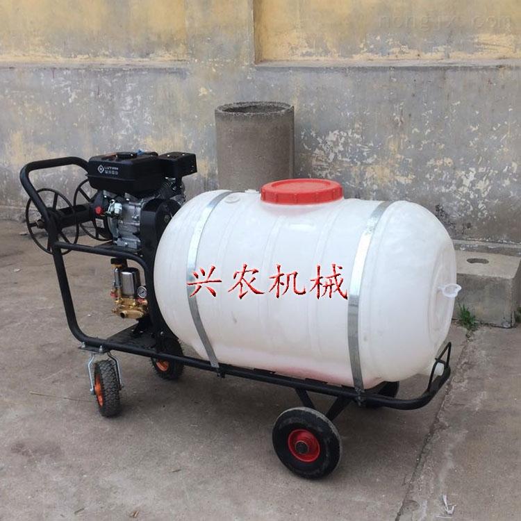 160升手推式园林打药车 农用高压泵喷雾器