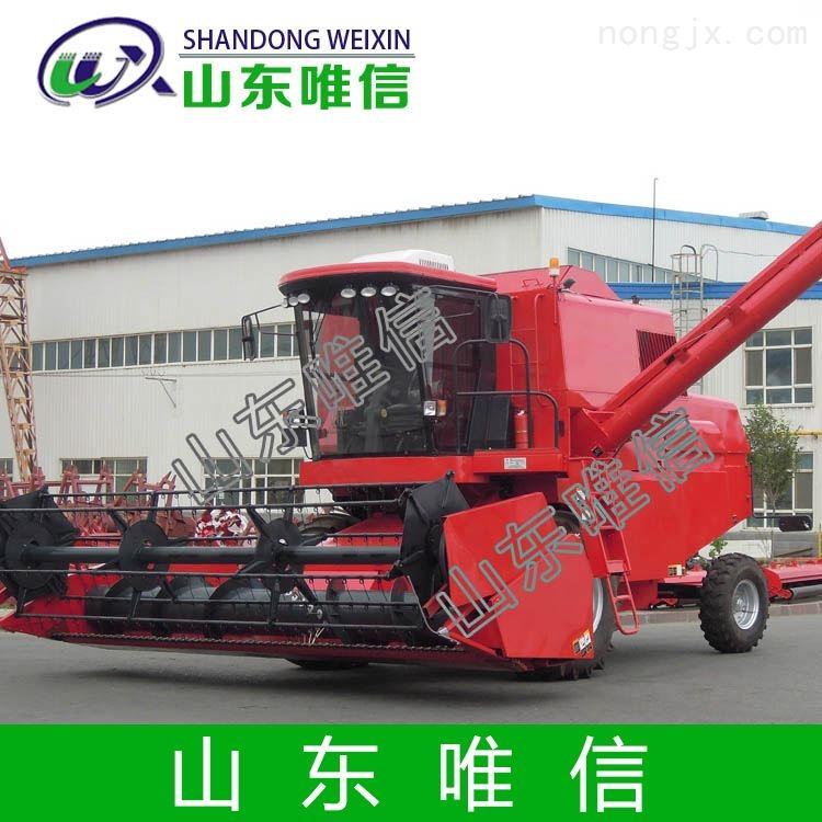 唯信农用机械设备自走轮式谷物联合收割机