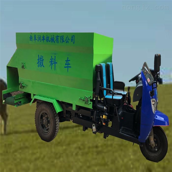 投料车厂家 六盘水牛场撒料车 全自动喂料机