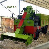 养殖小型清粪车 18马力铲粪车